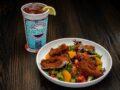 Pecan Crusted Chicken Breast Salad